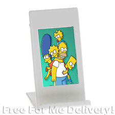 DESK PHONE HOLDER PHOTO FRAME - White iPhone Cell Picture Stand **FREE DELIVERY*