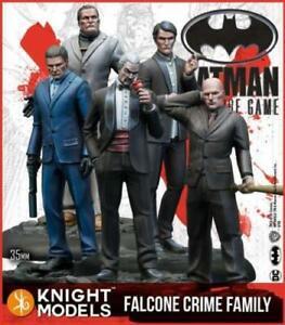 Batman DC Miniature Game Knight Models Falcone Crime Family