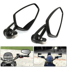 Pair Black Aluminum Bar End Rearview Side Mirrors For Ducati 899 / 959 Panigale