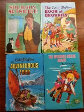 VINTAGE ENID BLYTON BOOK OF BROWNIES MR TWIDDLE ADVENTUROUS FOUR WISHING CHAIR