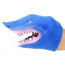 1Pc Lovely Shark Animal Hand Puppet Figure Toy Children Kid Stories Telling Toy