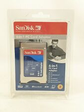 SanDisk 6-in-1 PC Card Adapter Unopened (n2)