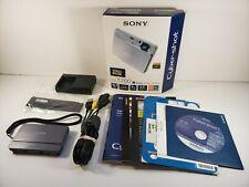 Sony Cyber-shot DSC-T700 10.1 MP Gray Digital Camera Bundle in Box - No Battery