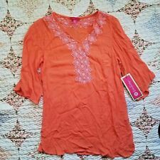 NWT Lilly Pulitzer for Target XS Women's Tunic Coral Pink Top