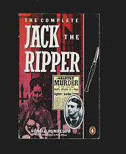SIGNED * Complete Jack the Ripper (1988) by Donald Rumbelow * Whitechapel London