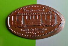 Cable Car Museum elongated penny San Francisco CA USA cent souvenir coin