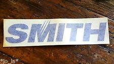 "Large Vintage SMITH Optics SKI SNOWBOARD DIE CUT PRO TEAM stickers 10""x2.5"""