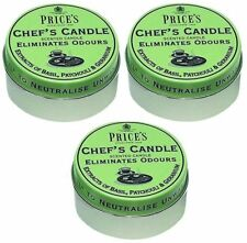 Prices Chefs Candle in Tin Eliminates Cooking Cooks Kitchen Food Odour