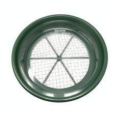 """CLEAR Acrylic Round (11"""") Mealworm Pupae Sifting Tray"""