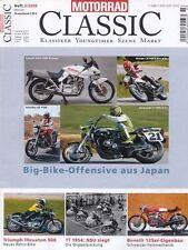 MC0403 + SUZUKI GSX 1100 Katana + TRIUMPH Thruxton 900 + MOTORRAD CLASSIC 3/2004