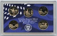 2003 State Quarter Proof Coin Set - United States Mint Official OGP