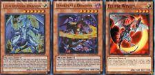 Chaos Dragon Complete Deck - Lightpulsar - Darkflare - Sorcerer 45 Cards Yugioh