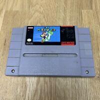 Super Mario World (SNES Super Nintendo 1991) - Damaged Cart