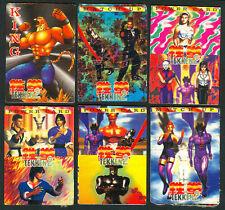 6 NAMCO TEKKEN Philippine TEKS / Trading Cards