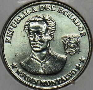 Ecuador 2000 5 Centavos BU 903735 combine shipping