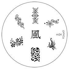 Konad stamping galería de símbolos m24 plate Nails Nail Art Stamp