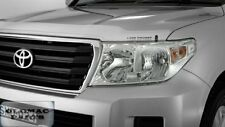 Brand New Genuine Toyota LandCruiser 200 Series Headlamp Covers / Protectors