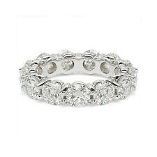 6.00 ct Round Cut Diamond Wedding Band Eternity Ring