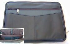 LEATHER DOCUMENT CASE, ROVER BRANDED, NEW (RVM18)