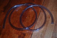 6' lot of 5 clear tubing plastic tygon fuel 5/8OD 3/8ID unused line trucks cars