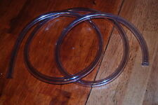 6' clear tubing plastic tygon fuel 5/8OD 3/8ID unused line trucks cars