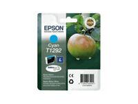 CARTOUCHE EPSON 100% NEUVE T1292 CYAN BLEU  / T129 pomme renard pas noire jaune