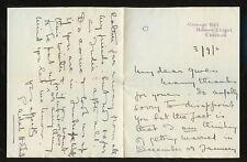CHESHIRE CRANAGE HALL  Oswald Carver..Elizabeth Hobart