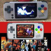 "2.4"" Mini Portable Video Game Console Retro Gaming Handheld System Players 16G"