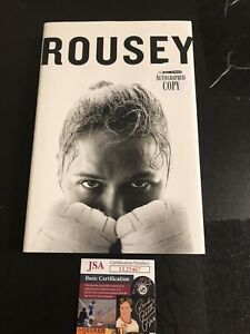Autographed Ronda Rousey Book First Edition UFC And WWE Legend JSA Signed