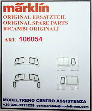 MARKLIN 106054 SET VETRI CABINA - SET FENSTER 37900 37901 37902 37903 37904