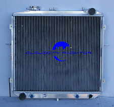 All aluminum radiator for 1995-2001 Kia Sportage   Row: 2  Fit For 2.0L I4 Engin