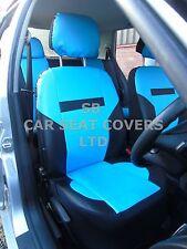 i - TO FIT A SUZUKI GRAND VITARA CAR, S/ COVERS, PRESTIGE PVC, SKY BLUE / black
