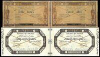2x  500, 1000 Francs - Ausgabe 1803 - 1812  - Reproduktion - 28