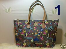 Disneyland Dooney & Bourke 2015 Run Marathon 10th Shopper Tote Handbag NWT