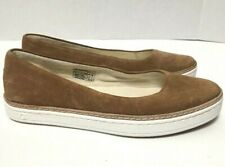 UGG Kammi Ballet Flats Brown Suede Slip On Womens 1013049 Size 6.5M