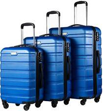COOLIFE Luggage 3 Piece Set Suitcase Spinner Hardshell Lightweight TSA Lock 4 Pi