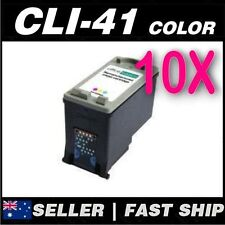 10x Color Ink for Canon CL41 CLI-41 iP2400 iP2600 FAX JX210P JX510P MP140 MP150