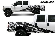 Vinyl Decal Nightmare Wrap Kit for Ford F-250/F-350 Truck 1999-2006 Matte Black