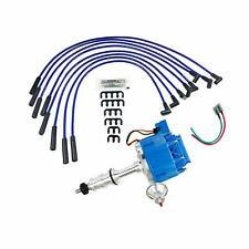 A-Team FORD 330 361 391 HD FE/FT HEI Distributor + 8MM SPARK PLUG WIRES KIT