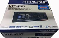 Alpine UTE-62BT Car Digital Media Receiver,iPhone/USB/Bluetooth/Pandora