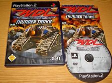 WDL Thunder Tanks - Spiel für Sony Playstation 2 - klasse PS2 Game