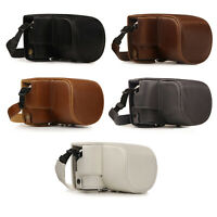 MegaGear Olympus PEN E-PL9 (14-42mm) Ever Ready Leather Camera Case and Strap