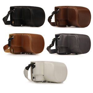 MegaGear Olympus PEN E-PL10, E-PL9 (14-42mm) Ever Ready Leather Camera Case