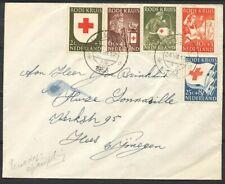 607/611 OP COUVERT MET 1E DAGST. NIJMEGEN 24.VIII.1953 - HEES   Zj070