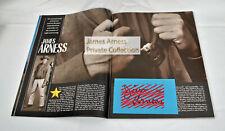 "James Arness Marshal Dillon Gunsmoke ""People Magazine"" Summer 1989 Combo"