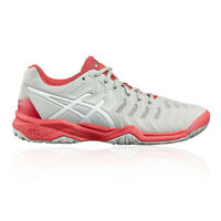 Asics Girls Gel-Resolution GS Boys Tennis Shoes Pink White Sports Breathable