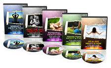 Complete Guided Meditations Audio CD set New - Free Yourself Today MINDFULNESS