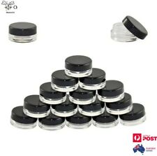 Empty Pots Jar Container Cosmetic Eye Shadow Makeup Lip Balm Cream Nail Art 3g
