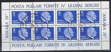 Turkije 1979 gestempeld sheet 2482 - Ulusal Sergisi (SG114)