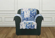 Sure Fit Heirloom Chair Cover Pet / Furniture Cover in Bluebell Floral